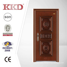 Swing Style Anti Theft Metal Door KKD-504 with Copper Imitating