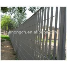 Barrière en tôle d'acier en métal galvanisé