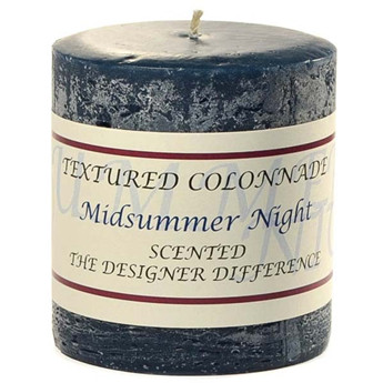 highly fragrant rustic pillar candles