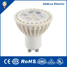 Projector do diodo emissor de luz do CE do UL do UL 110V GU10 7W 6W 4W