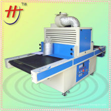T china manufacture plastic material screen printer UV drying machine
