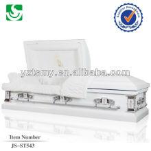 JS-ST543 Chinese cheap metal casket