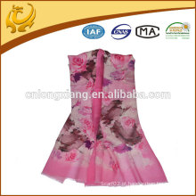 Certificado SGS feito sob encomenda, xale de lã feminina