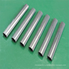 304 Сварные овальные тонкие трубы для украшения