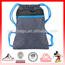 Promotional gym sack drawstring bag, shoe bag