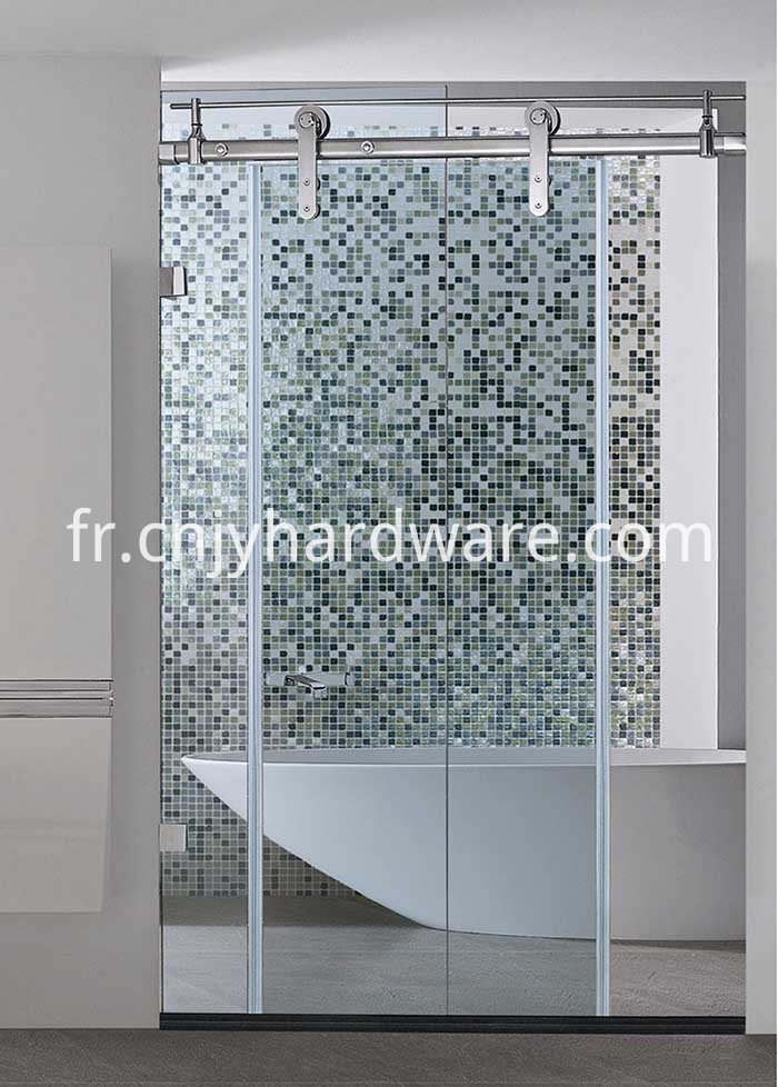 Bathroom Glass Sliding Door