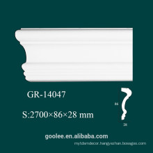 Environmental Interior Decorative PU Plain Panel Molding