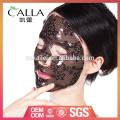 2017 hot sales black lace máscara facial de hidrogel para OEM