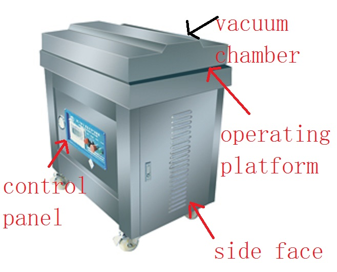Candied Fruit Vacuum Packaging Machine