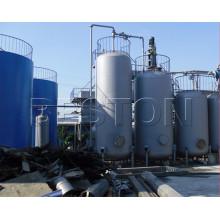 Machine de réutilisation de machine de réutilisation d'huile de moteur à haut risque et à faible risque utilisée à vendre