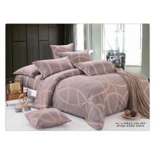 Lujo 40s 128 * 68 pigmento impresión 100% algodón algodón indio cubierta de la cama