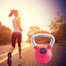 Functional Fitness Rubber Coated Kettlebell