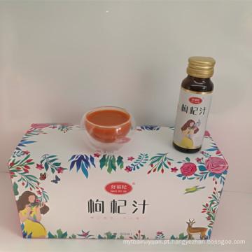 Os suplementos herbais datilografam o pulverizador do sexo de Wolfberry do suco de Goji para homens