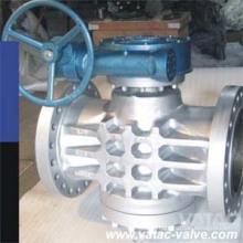 Литой Wcb / Lcb Зубчатый клапан Dbb с ручным управлением