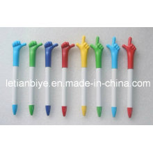 Fancy Finger Pen Imprinted Logo for Advertising (LT-Y015)