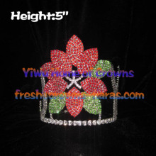 5inch Rhinestones Crystal Flower Crowns