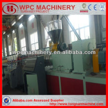 Wpc pvc foam crust board machine