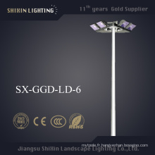 2015 Le plus récent 15m \ 25m \ 30m \ 35m LED High Mast Light