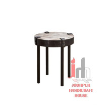 Iron Clamp Small Table