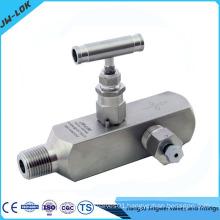 Multi-port instrument root valve