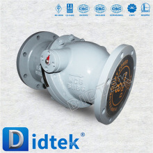 Válvula de retenção à flange de selagem automática de alta pressão