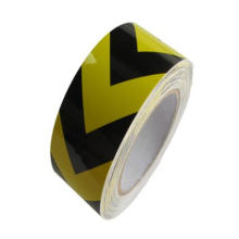 5cm Width High Intensity Grade Glass Beads Reflective Black Arrow Tape for Road Safety Sign