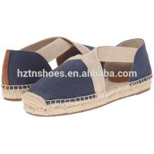 Hommes et femmes Jute Sole Espadrille Shoes
