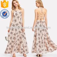Кружева популярные: бязь платье Производство Оптовая продажа женской одежды (TA3228D)