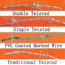 Stacheldraht Draht (PVC beschichtet)