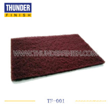 Abrasive Scouring Pad(Light Maroon )