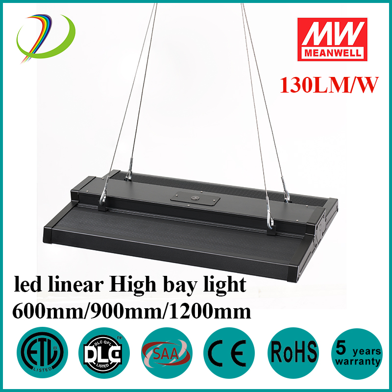 dlc listed led linear highbay