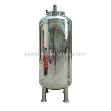Tanque de água de aço inoxidável para planta de purificação de água