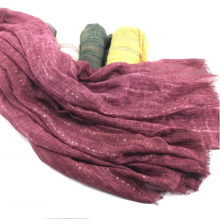 mulheres macias lantejoulas cachecol xale