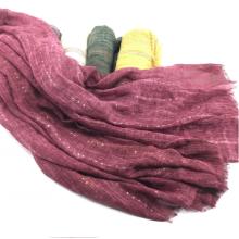 mantón de bufanda de lentejuelas de mujer suave