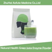 Enzyme Pó verde da saúde natural do suco