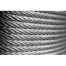 Stahldraht Rop, Stahldraht Seil / PVC beschichtet Draht Rop