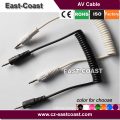 3.5mm stereo male to male aux cable for car