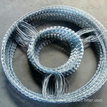 Hot dipped galvanized Double Concertina Wire Mesh