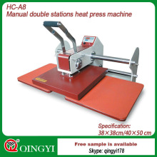 large format heat transfer machine