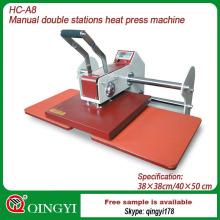 máquina de transferência de calor de grande formato