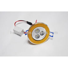 Huerler 100-240v / AC 50-60hz 60mA llevado downlight 3w