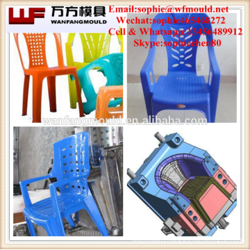 plastic injection mould production/High quality Transparent plastic injection chair mould made in China