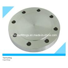 ANSI A105 RF Acero al carbono forjado Brida de tubo ciego