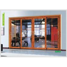 Porta de vidro, porta de vidro deslizante