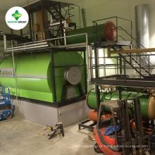 Destilação de destilação de óleo lubrificante de óleo de motor de óleo de pirólise para diesel planta