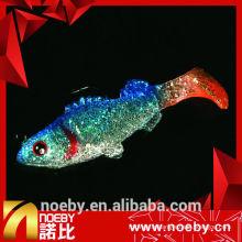 NOEBY marque 8g 65mm soft shad appuie des leurres de pêche doux