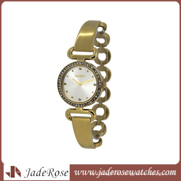 Fashion Japan Movt Quartz Watch Stainless Steel Back