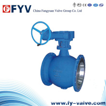 Gear Operated Eccentric Semi V-Type Ball Valve