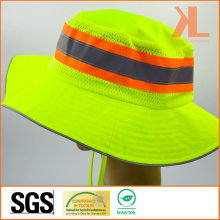 100% Polyester Bucket Hat with Reflective Piping