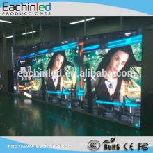 Le panneau polychrome d'intérieur de TV de HD HD P2 P2.5 P3 P4 a mené l'affichage de mur visuel